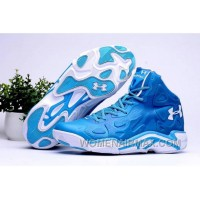 Cheap Under Armour UA Micro G Anatomix Spawn 2 Royal Blue White Authentic 7ZeKEk