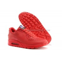 Nike Air Max 90 flag USA Nba Chicago Bulls all red Shoes Woman spEdizione gratuita