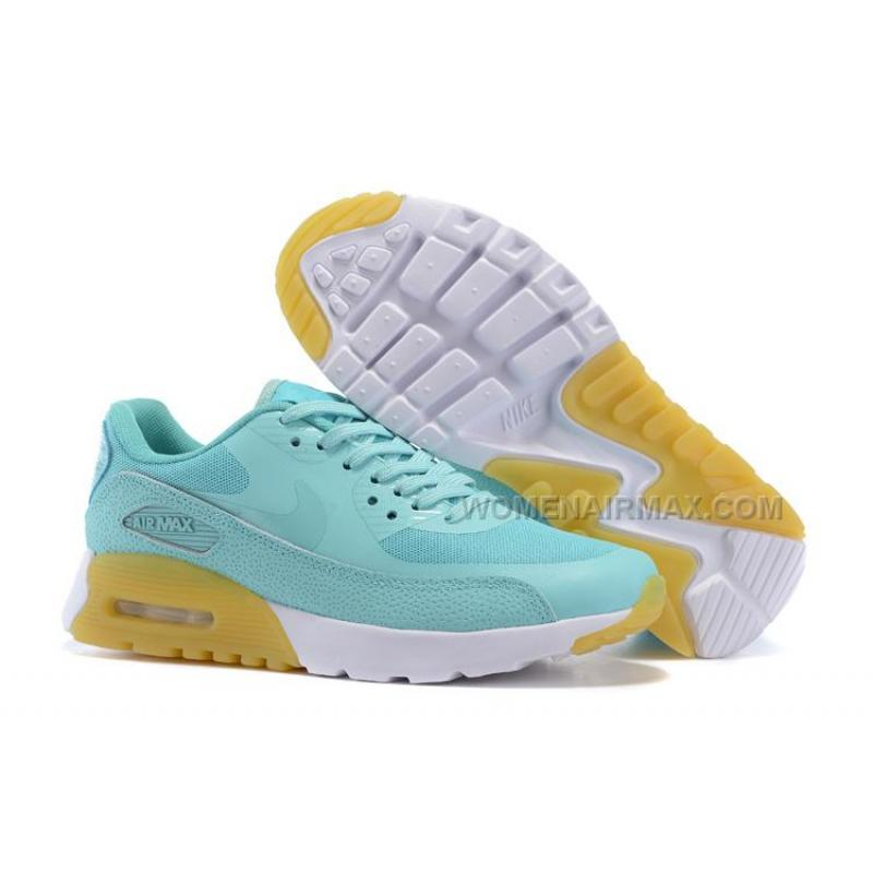 size 40 2035b f0dec Air Max 90 Ultra Essential Womens Shoes MintWhite-Yellow ...