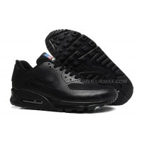 Buy Cheap Nike Air Max 90 Flag Usa Womens Shoes Classic All Black Lovers Shoes