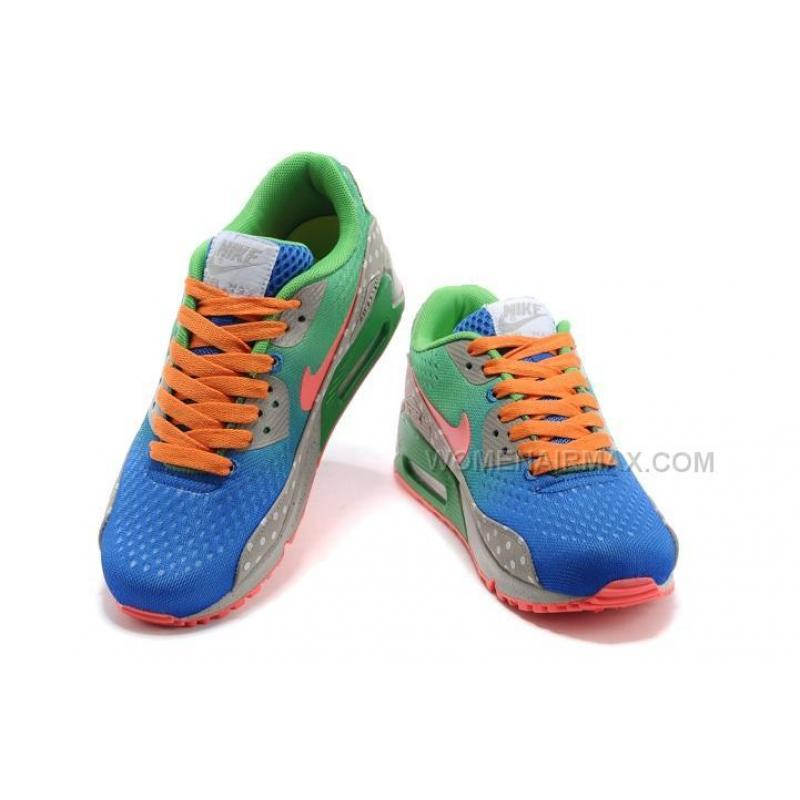 ... Nike Air Max 90 EM Womens Shoes Dragon Green Blue ...