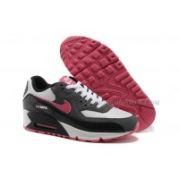Nike Air Max 90 Womens Shoes New White Black Pink