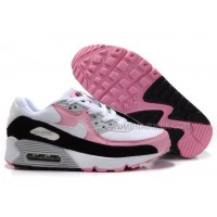 Nike Air Max 90 Womens Shoes Wholesale Black White Pink
