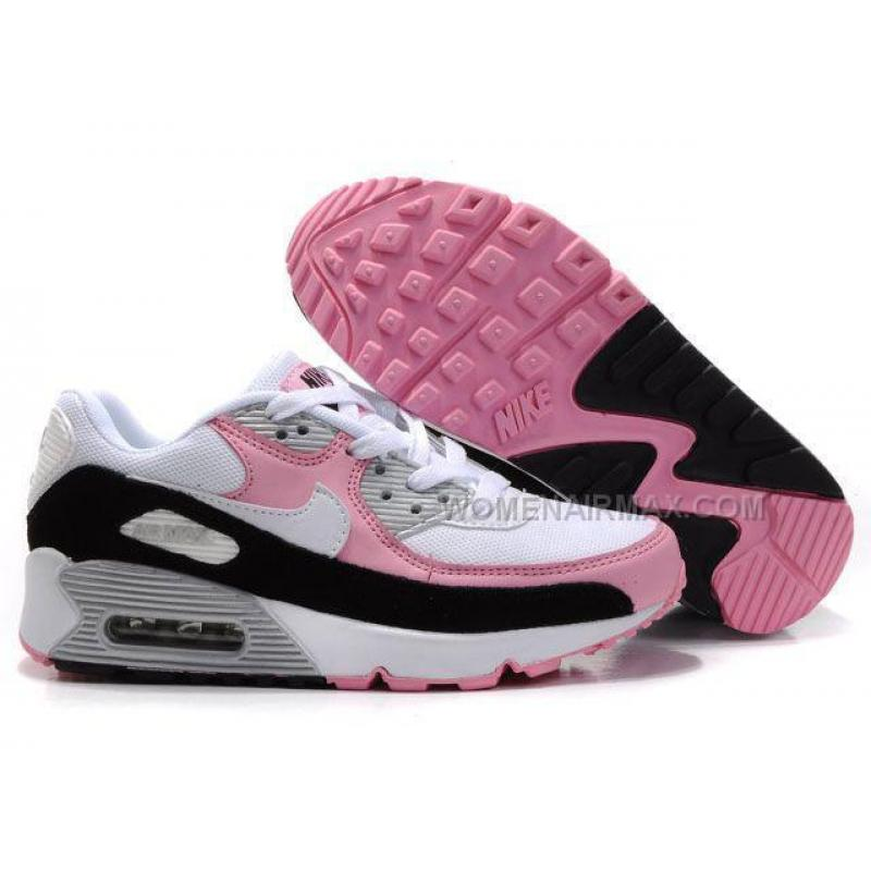nike air max 90 womens shoes wholesale black white pink price women air max nike. Black Bedroom Furniture Sets. Home Design Ideas