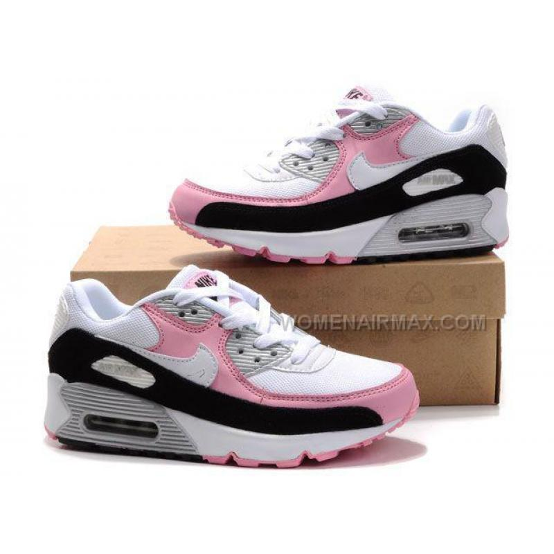 nike air max 90 womens shoes wholesale black white pink. Black Bedroom Furniture Sets. Home Design Ideas