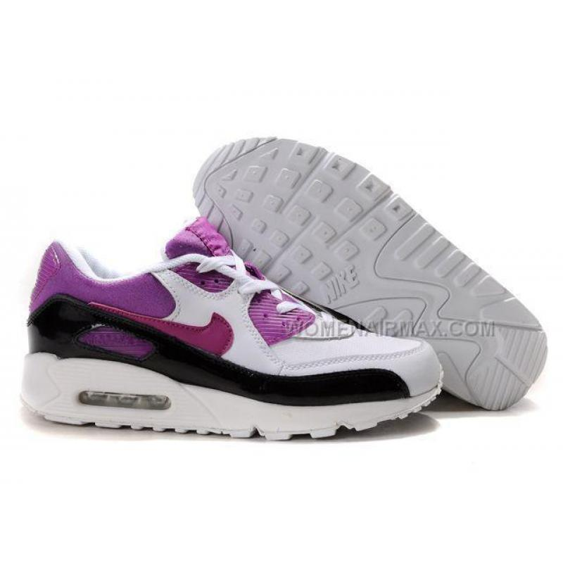 huge selection of f3e14 abe6f USD  89.00. Nike Air Max 90 Womens Shoes Wholesale Purple Black ...