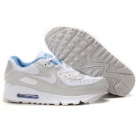 Nike Air Max 90 Womens Shoes Wholesale White Gray