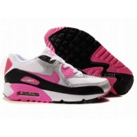 Nike Air Max 90 Womens Shoes Wholesale Red White Gray