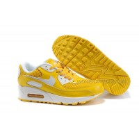 Nike Air Max 90 Womens Shoes Wholesale Yellow White