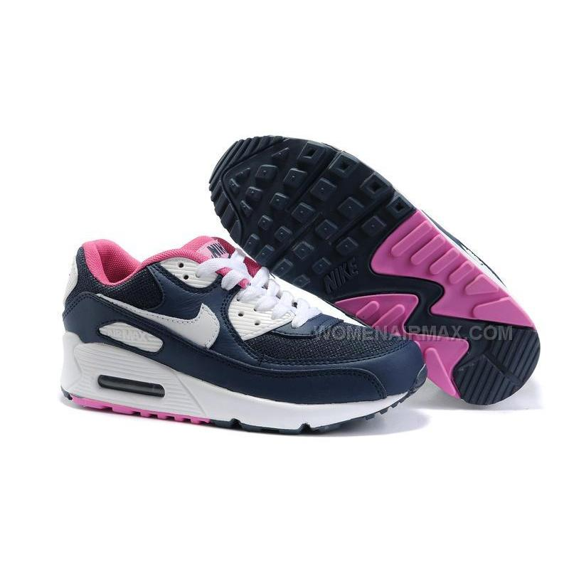Nike Air Max 90 Womens Shoes Wholesale White Brown Pink ...
