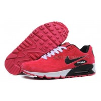 Nike Air Max 90 Womens Shoes Fur 2014 Releases Red