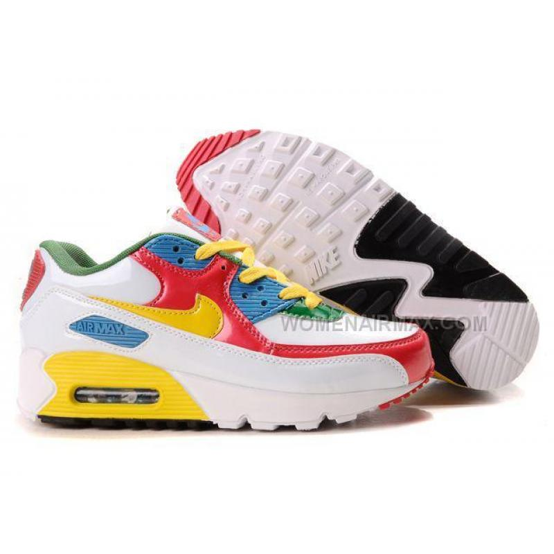 nike air max 90 red white and blue