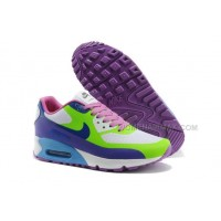 Nike Air Max 90 Hyp Prm White FLuorescent Green