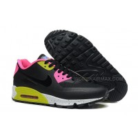 Nike Air Max 90 Hyp QS Womens Shoes Black Pink Green