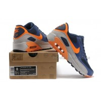 Nike Air Max 90 Womens Shoes Hyperfuse 2014 Releases Blue Orange