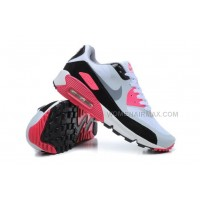 Nike Air Max 90 Womens Shoes Hyperfuse 2014 Releases White Pink
