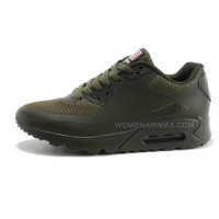 Nike Air Max 90 Hyperfuse PRM Womens Shoes Army Green