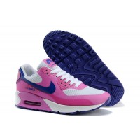 Women Air Max 90 Hyperfuse Pink Blue White