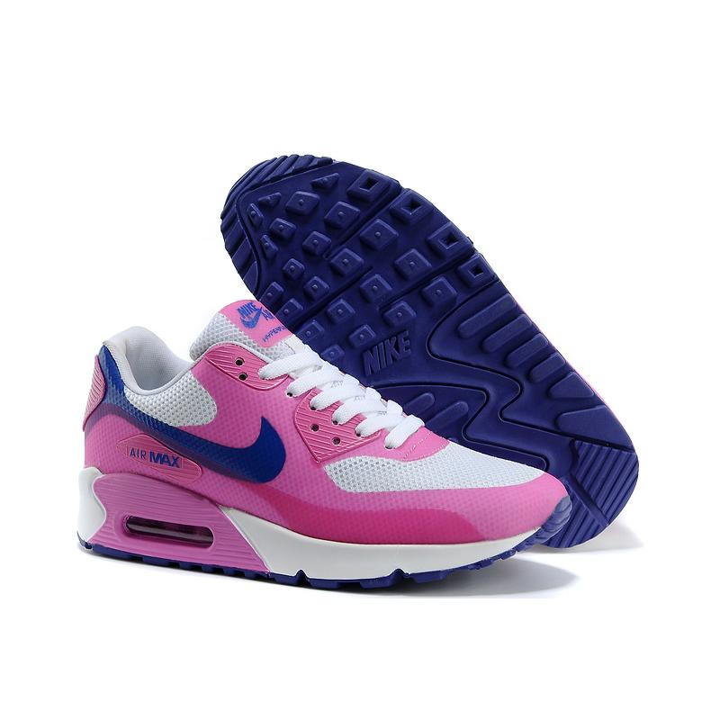 best sneakers 57000 f822d Women Air Max 90 Hyperfuse Pink Blue White