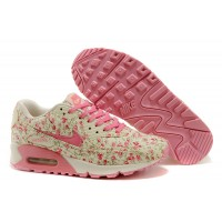 Women Air Max 90 Peach Flower