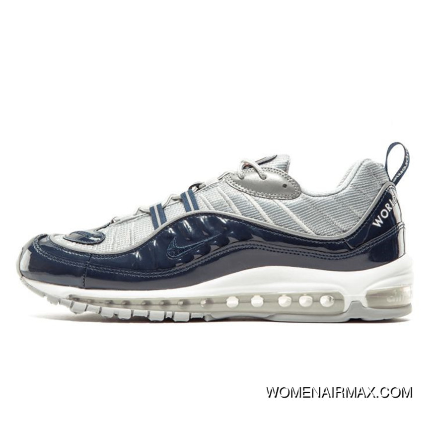 Name Nike AIR MAX 98 20 Th Anniversary Of 844694 400 Grey Black Outlet