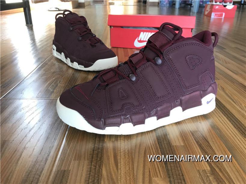 best loved f5c63 1a653 Nike Air More Uptempo Night Maroon Night Maroon-Sail Top Deals