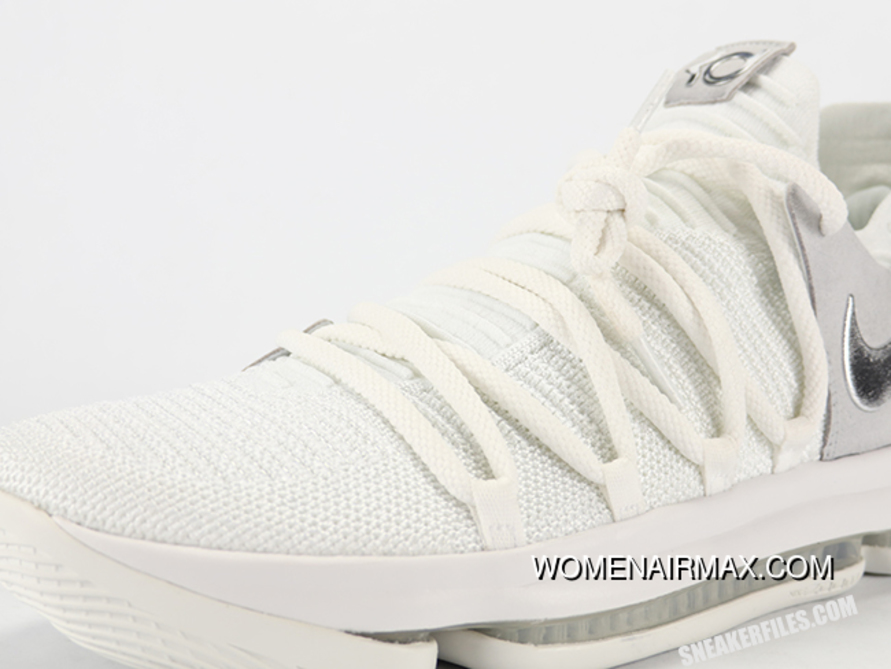 huge discount 707b9 7626d New Nike Kd 10 Still Kd White Chrome Pure Latest