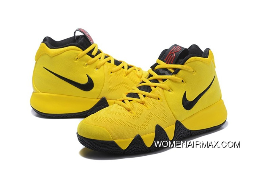 the best attitude 4d905 a54c8 2018 Nike Kyrie 4 Mamba Mentality Bruce Lee In Tour Yellow And Black Free  Shipping