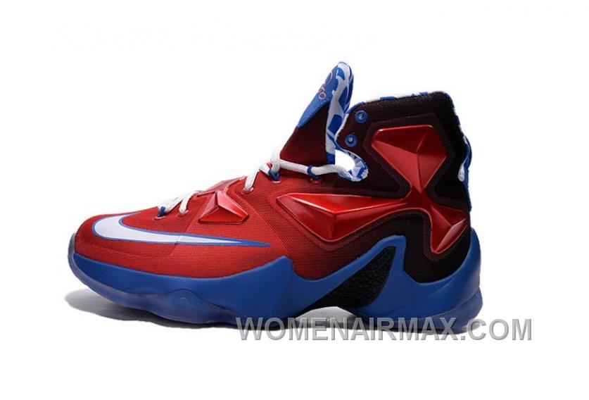 a0d858293bc1 Nike LeBron 13 Grade School Shoes Captain America Discount PfrkN ...