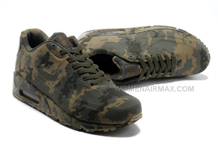big sale 18020 bef04 Air Max 90 Womens New Shoes Camo Army Green