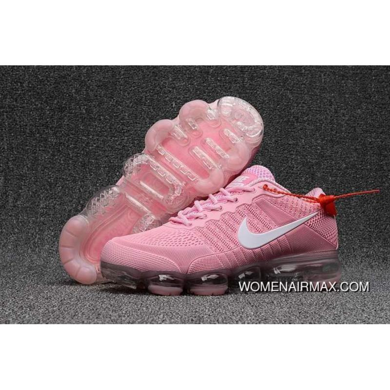 best sneakers 7e5c1 b7613 Buy Girls Exclusive Nike Air Vapormax Flyknit Pink White For Sale