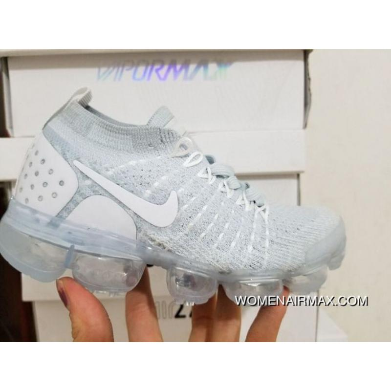 purchase cheap 75d53 27a18 Kids Nike Air VaporMax 2018 Flyknit Running Shoe SKU:88669-283 New Release