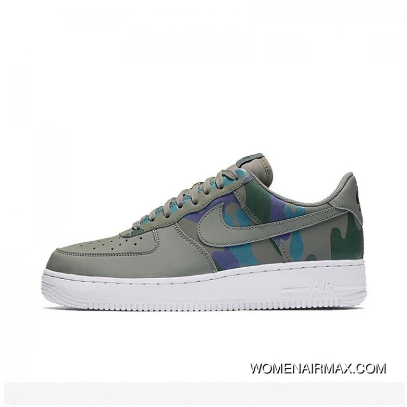 ad3b7ed597 NIKE Air Force 1 AF1 Camo 3M Reflective One Casual Sneaker 823511 ...