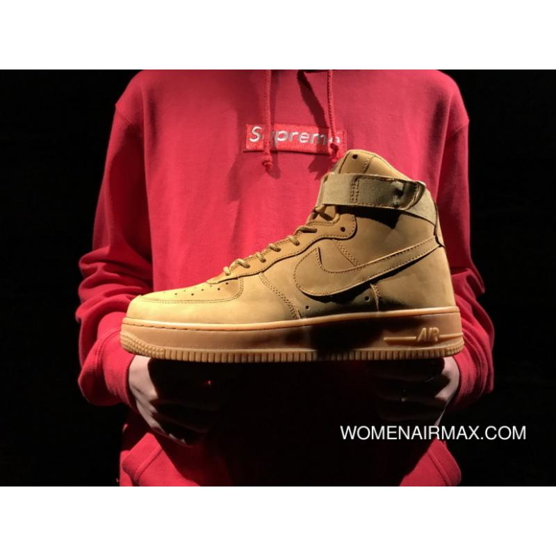 P300 Wheat High Nike Air Force One High Suede Ji Skin 1 High Flax ... 09946cf06b