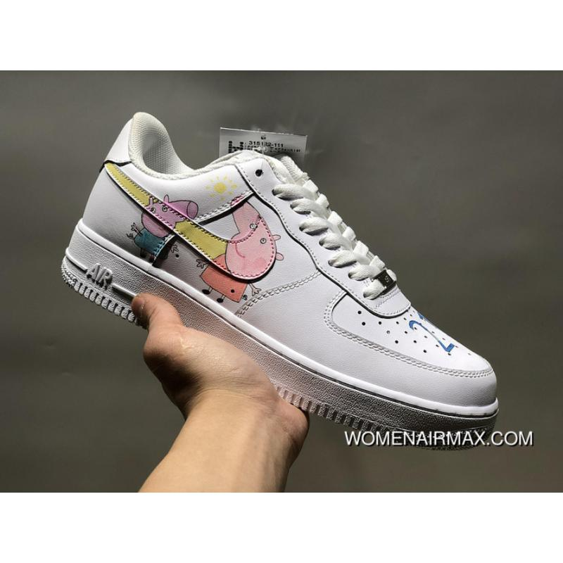 brand new 6ab82 b3add Customized-Nike Air Force 1 Side 1 Shoes Can Customize Digital Birthday  Special Days And So On Customized Version Of Piglet Paint Master Page Level  Of ...