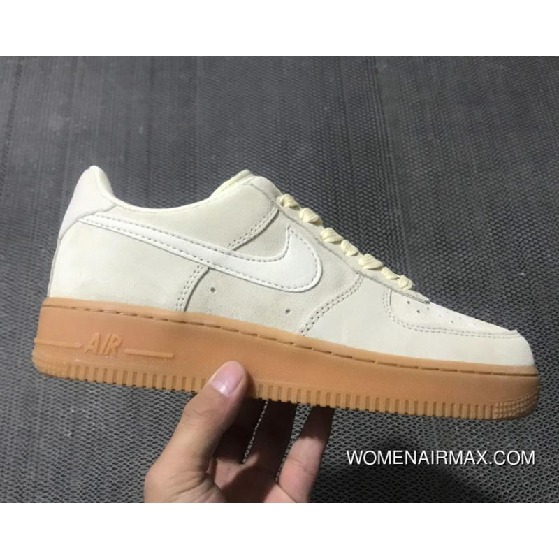 chaussures de sport a0b2b 275b4 Nike Air Force 1 Low 07 Suede 'Mushroom' New Style