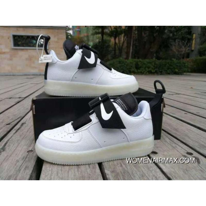 new concept d4359 0f7ab Nike Air Force One Utility Af1 Deconstruction Of Magnetic Buckle Function  Sneakers Ao1531-300-700 Latest