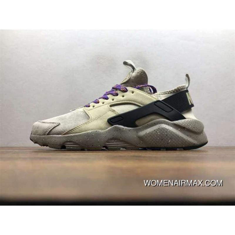 56e87b647d1c4 Nike Air Huarache Pig Leather Material Running Shoes 829669-334 Top ...
