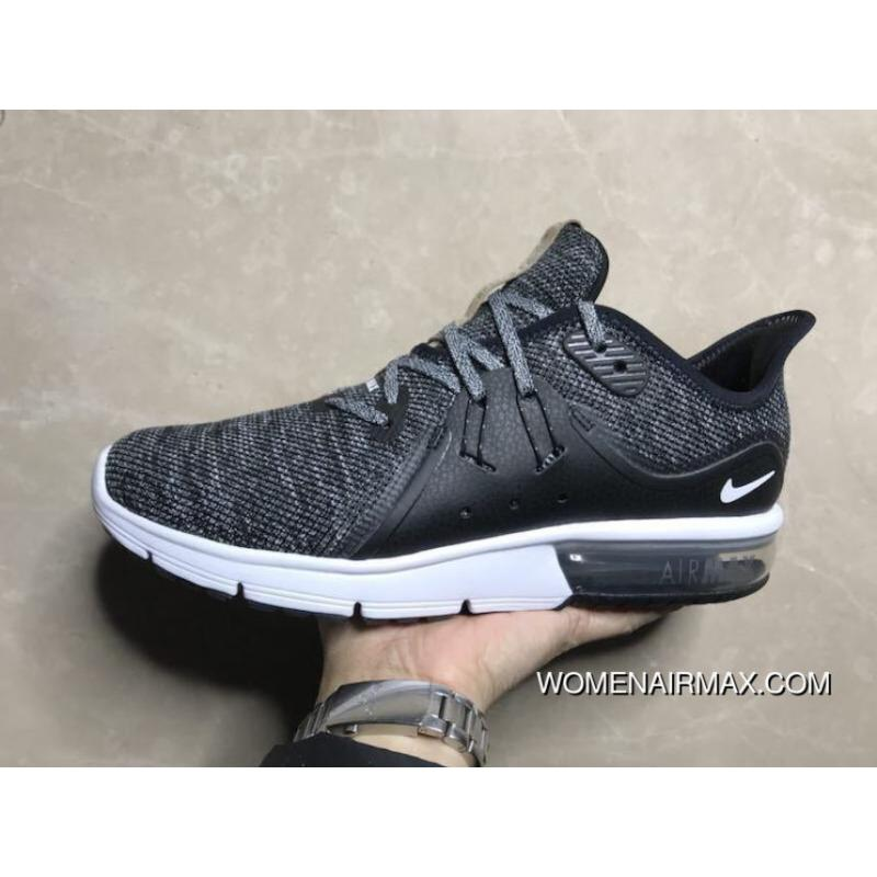 best service 46a7c fbb5f Nike AIR MAX SEQUENT 3 2018 Men Zoom Running Shoes 921694-011 4 New Release