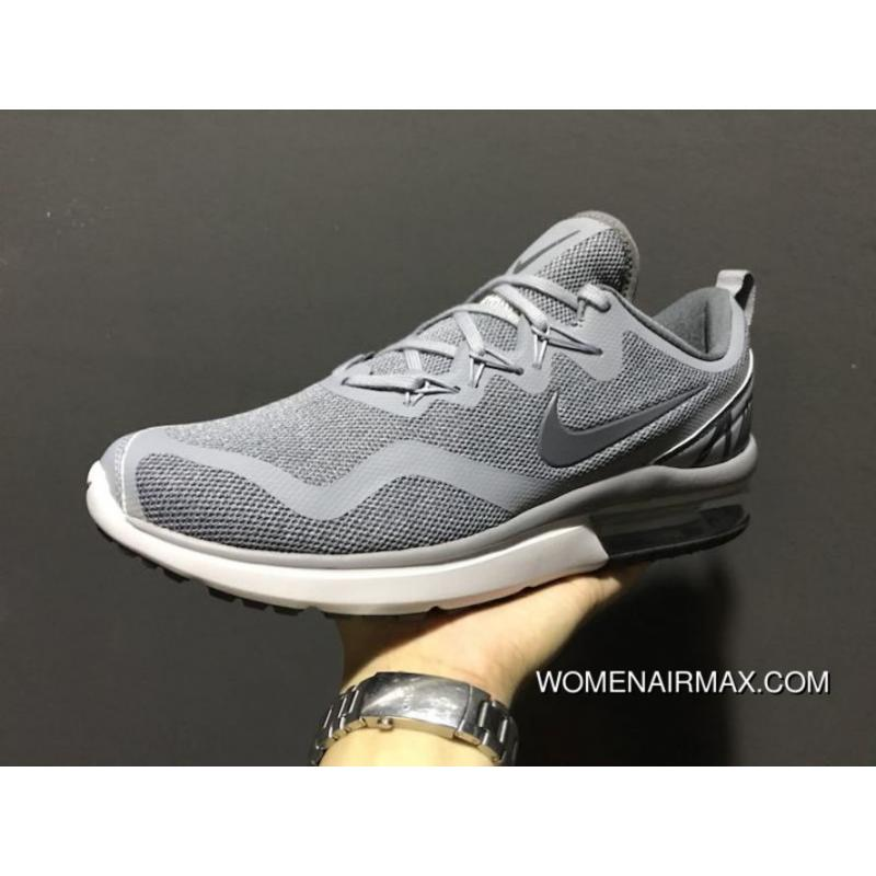 huge discount 7c2de f0379 Nike 30th Anniversary Dark Grey Men Shoes 2017 Autumn Fall And Winter AIR  MAX FURY Zoom Running Shoes Sport Shoes AA5739-004 18 Best