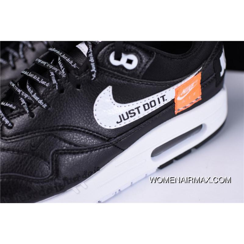 Pure Hyx63108 Just Do It Just Do It Nike Air Max 1 Classic Retro Zoom  Jogging Shoes Black WHite Orange 917691-002 Outlet