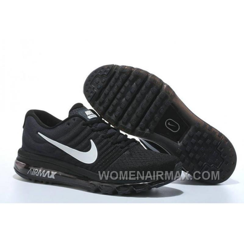 8f21bd45faa12 Authentic Nike Air Max 2017 Black Silver Top Deals STP5aTR
