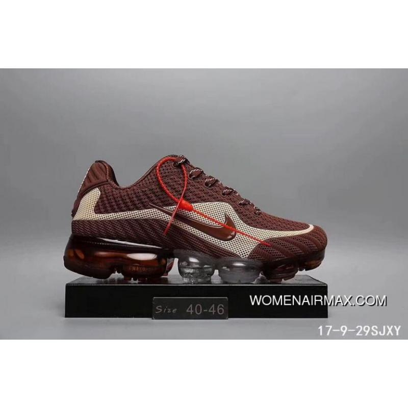 2a7a6e962f NIKE AIR VAPORMAX FLYKNIT 2018 Brown White Copuon, Price: $88.04 ...