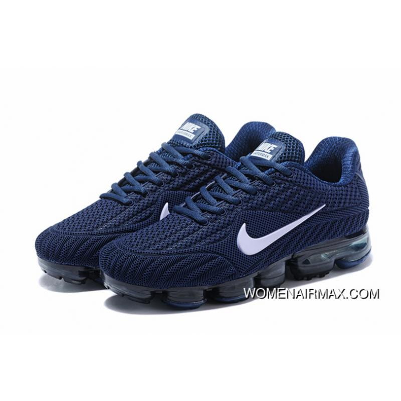 best website 822f5 bc99d Navy Blue Nike 2018 PLASTIC AIR MAX 2018 Nanotechnology PLASTIC Zoom  Running Shoes Free Shipping