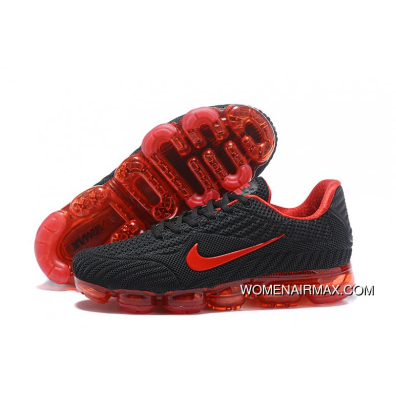 reputable site 94a78 9ec17 Nike AIR MAX 2018 Nanotechnology PLASTIC Zoom Running Shoes Black And Red  Best