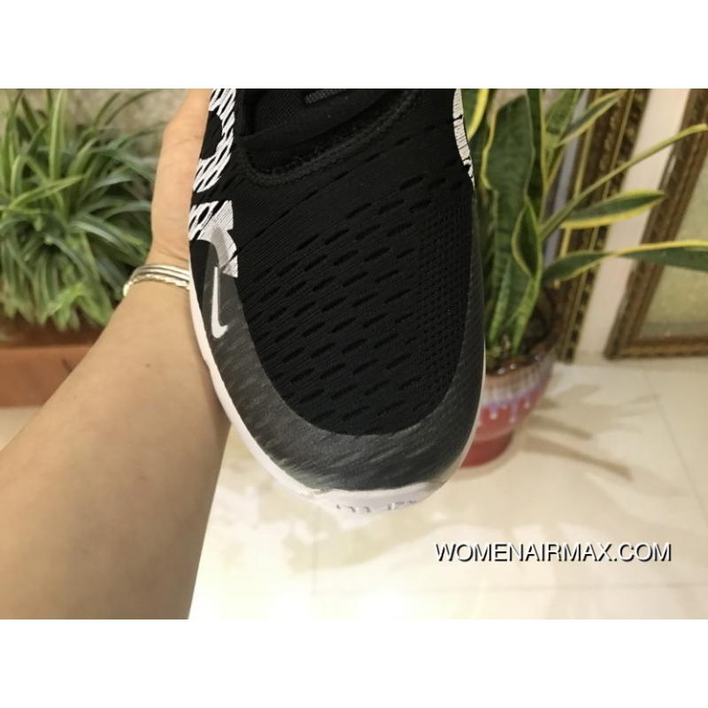 pretty nice 435b6 16321 ... MAX 270 Sup Supreme X Nike Air Max 270 Sup Ah8050-610 Women Men Black  ...