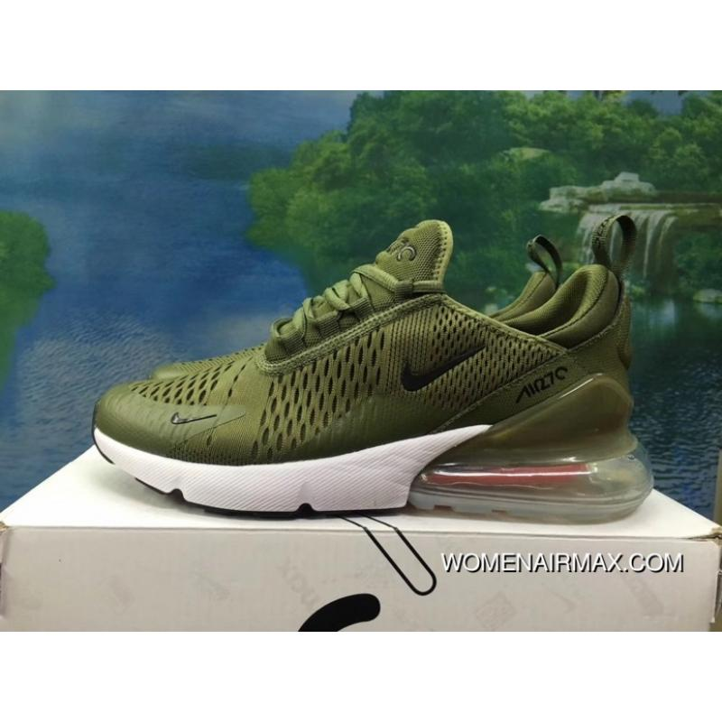 best loved fd01a 53b88 120-1801-5 AH8050-1801 He Was Green White Men Shoes Nike 270 Half-270 Air  Max 270 Palm As Anti-slip RB MD Suspension Support Insole New Year Deals