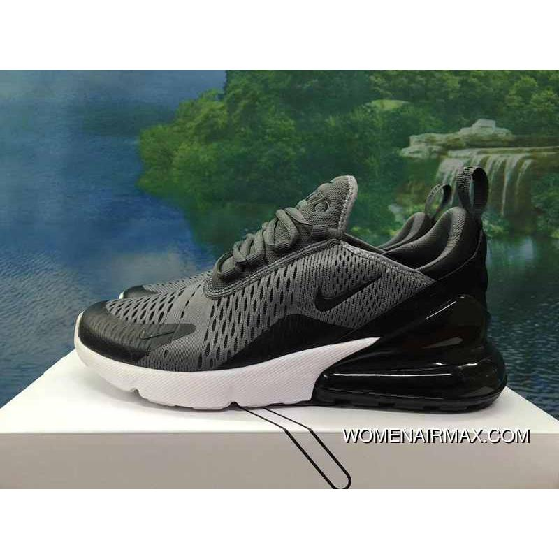 online store 96e3f ee025 120-1801-4 AH8050-1801 Deep Grey Black White Men Shoes Nike 270 Half-270  Air Max 270 Palm As Anti-slip RB MD Suspension Support Insole Discount