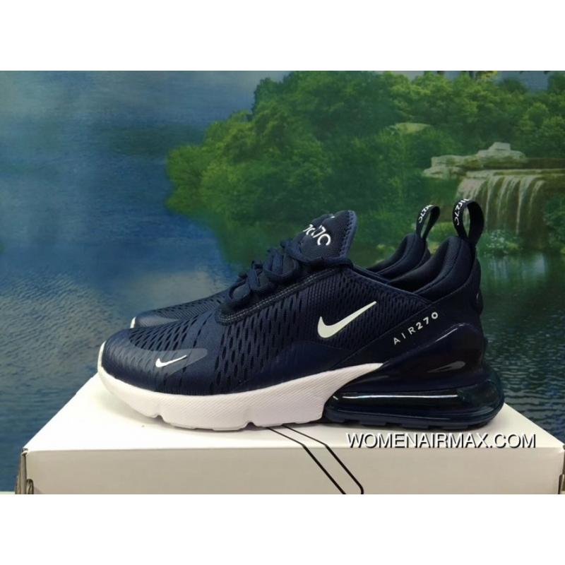 size 40 7be21 fc605 120-1801-3 AH8050-120 Navy Blue Men Shoes Nike 270 Half-270 Air Max 270  Palm As Anti-slip RB MD Suspension Support Insole Latest