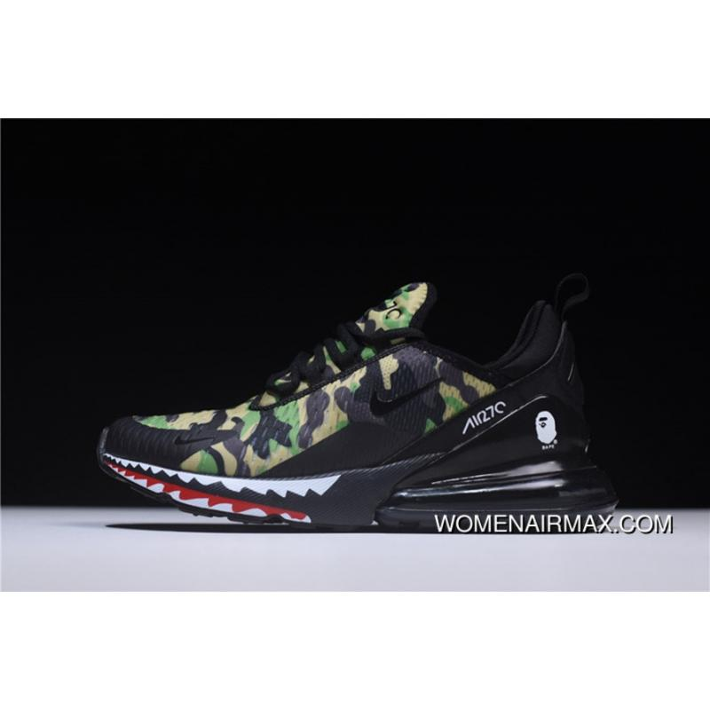 efff8e27279 USD  80.97  202.42. Hyx62508 Japanese Camo Bape A Bathing APE X Nike Air  Max 270 ...